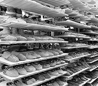 Bata Shoe Museum storage room